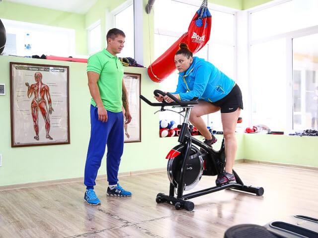 Тренировка по сайклу